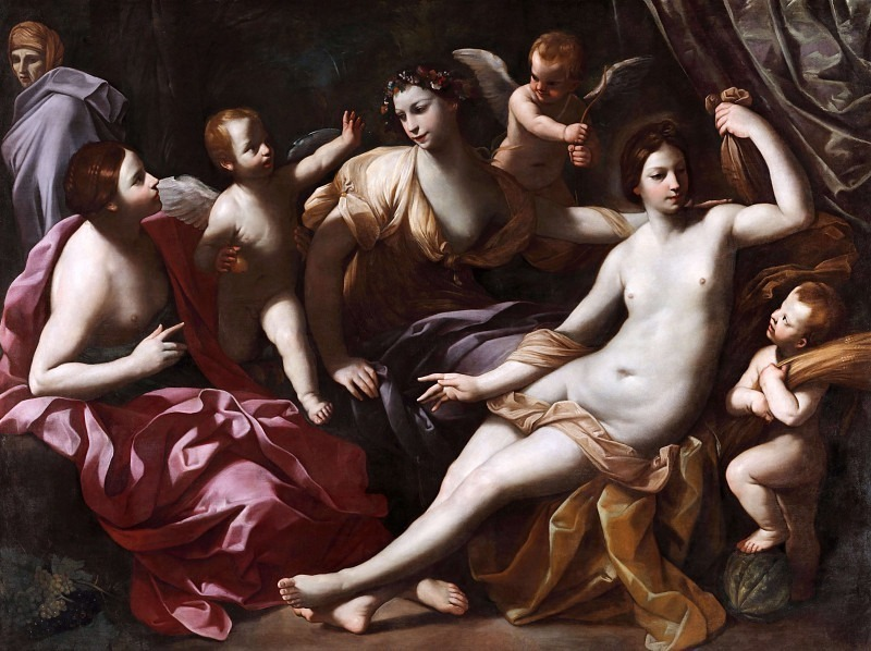 The Four Seasons. Guido Reni