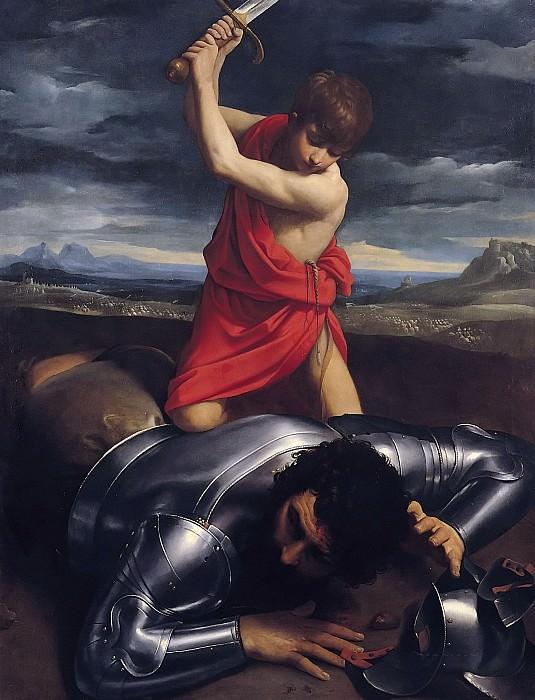 David and Goliath. Guido Reni
