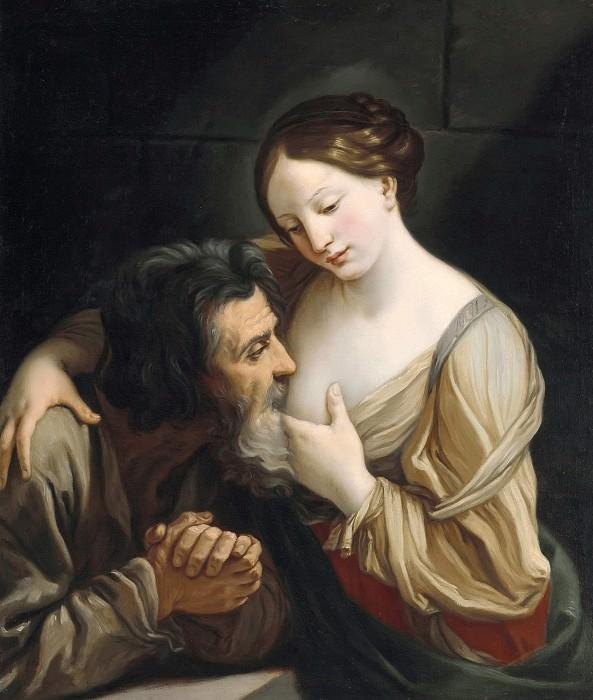 Roman Charity. Guido Reni
