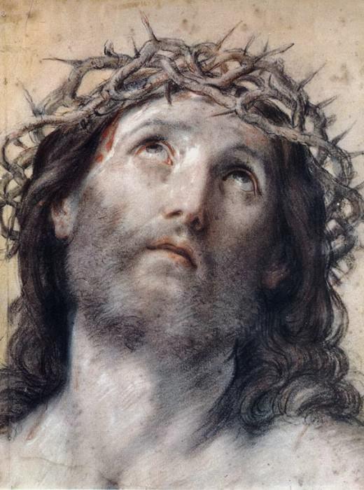 Saint Catherine with Angels. Guido Reni