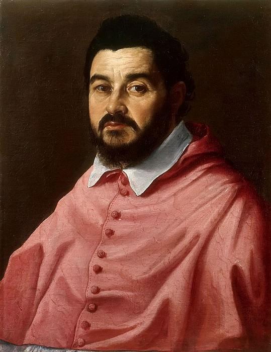 Portrait of Cardinal Giacomo Sannesi. Guido Reni