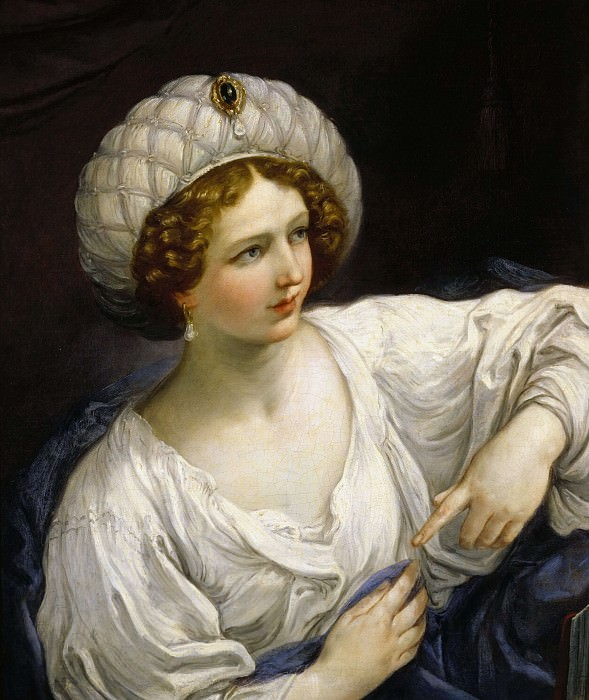 Portrait of a Lady as a Sibyl. Guido Reni