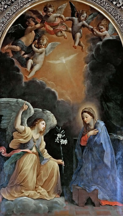 Annunciation to Mary. Guido Reni