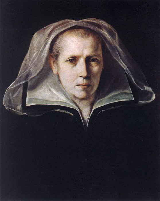 Portrait of the Artists Mother. Guido Reni