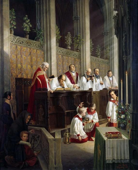 Католическое богослужение. Самуэль Рам