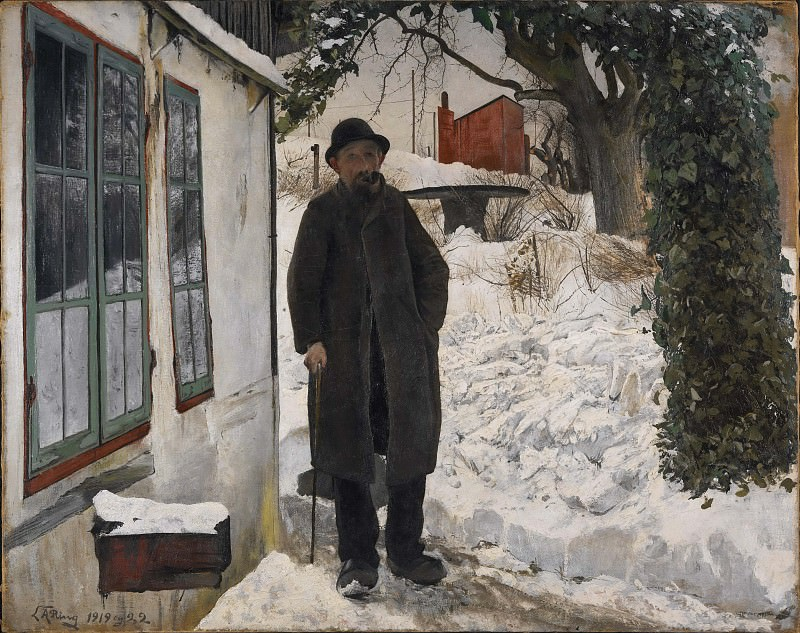 At the Old House. Lauritz Anderson Ring