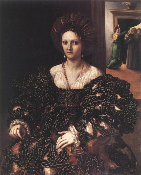 Портрет женщины. Джулио Романо