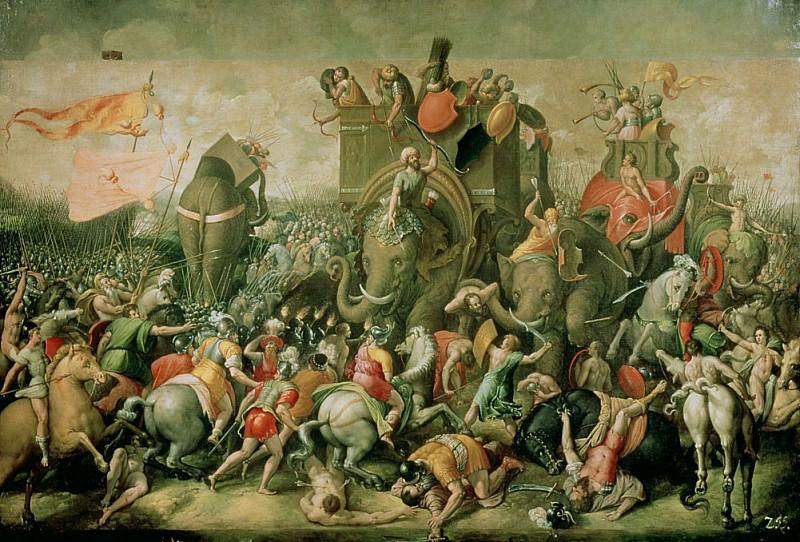 Битва у Замы, 202 г. до н.э.. Джулио Романо