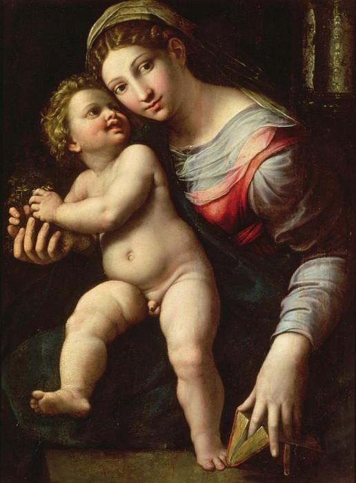 Madonna and Child. Giulio Romano