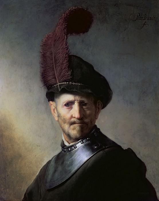 Старик в военной одежде (приписывается). Рембрандт Харменс ван Рейн