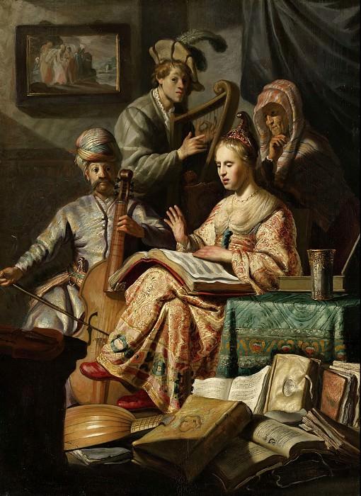 Musical Allegory. Rembrandt Harmenszoon Van Rijn