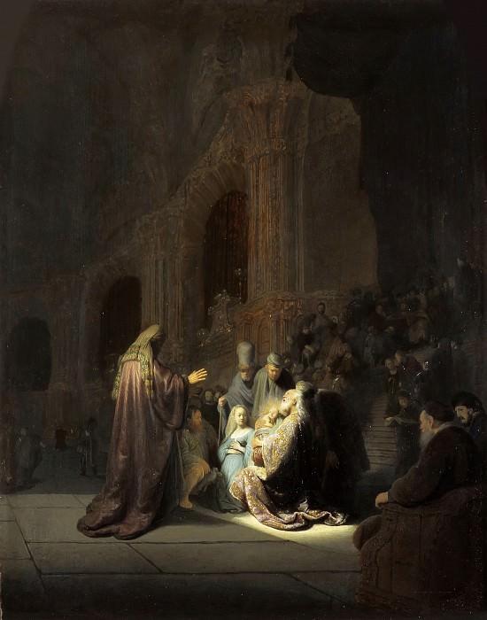 Хвалебная песнь Симона. Рембрандт Харменс ван Рейн