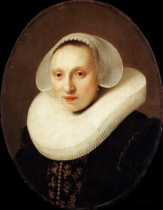 Портрет Корнелии Пронк, жены Альберта Кейпера (последователь). Рембрандт Харменс ван Рейн