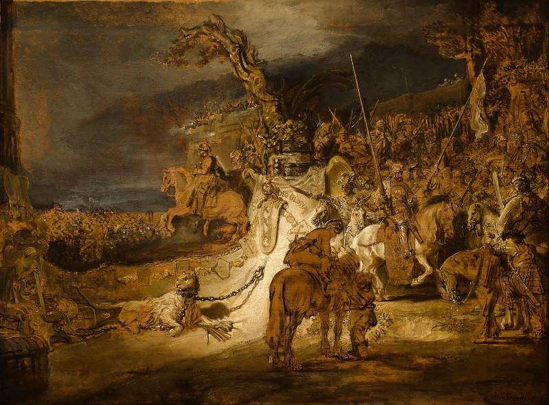 Соглашение нидерландских провинций. Рембрандт Харменс ван Рейн