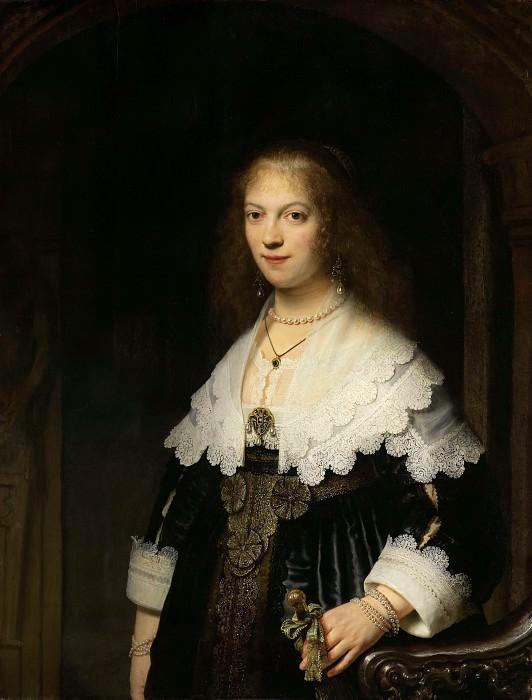 Maria Trip. Rembrandt Harmenszoon Van Rijn
