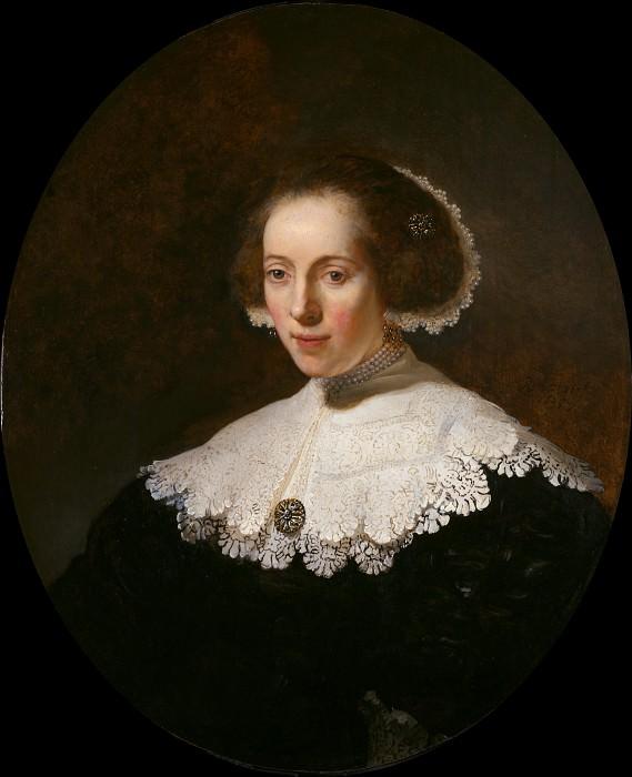 Portrait of a Lady. Rembrandt Harmenszoon Van Rijn (attr.)