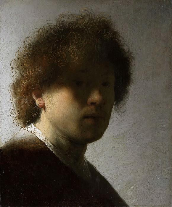 Self-Portrait. Rembrandt Harmenszoon Van Rijn