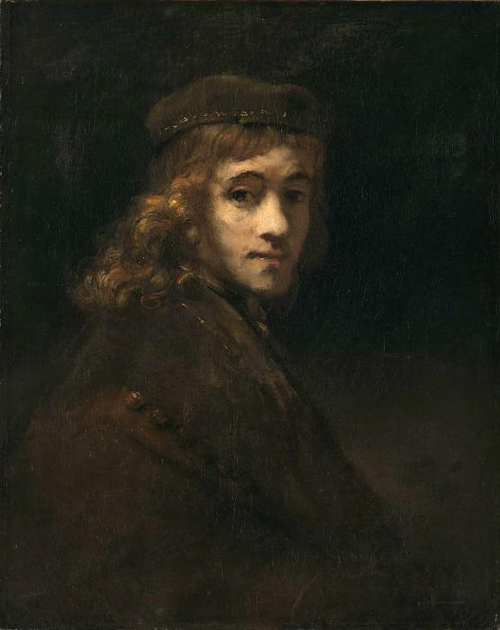 Портрет Титуса, сына художника (приписывается). Рембрандт Харменс ван Рейн