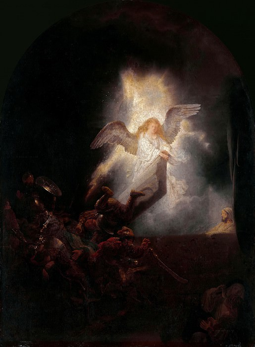 The Resurrection of Christ. Rembrandt Harmenszoon Van Rijn