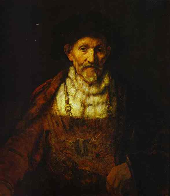 Portrait of an Old Man (attr). Rembrandt Harmenszoon Van Rijn