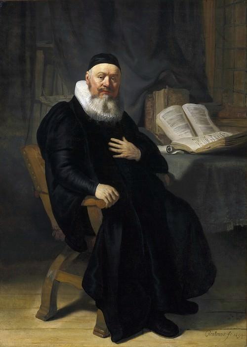 Portrait of Hans Alenson. Rembrandt Harmenszoon Van Rijn