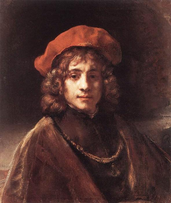 Titus. Rembrandt Harmenszoon Van Rijn
