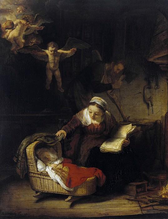 Holy Family. Rembrandt Harmenszoon Van Rijn