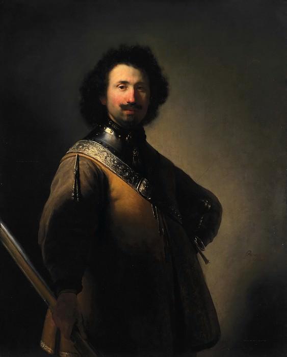Portrait of Joris de Caullery. Rembrandt Harmenszoon Van Rijn