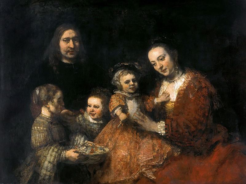 Family Portrait. Rembrandt Harmenszoon Van Rijn