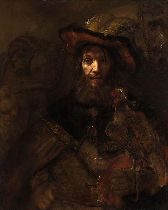 Riddaren med falken. Rembrandt Harmenszoon Van Rijn