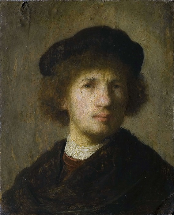 Selfportrait. Rembrandt Harmenszoon Van Rijn