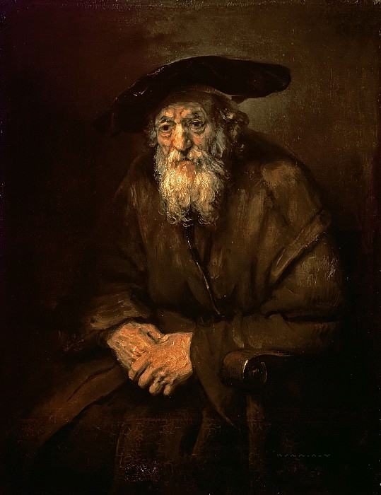 Portrait of an Old Jew. Rembrandt Harmenszoon Van Rijn