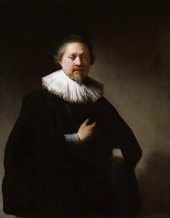 Portrait Of A Man (attr). Rembrandt Harmenszoon Van Rijn