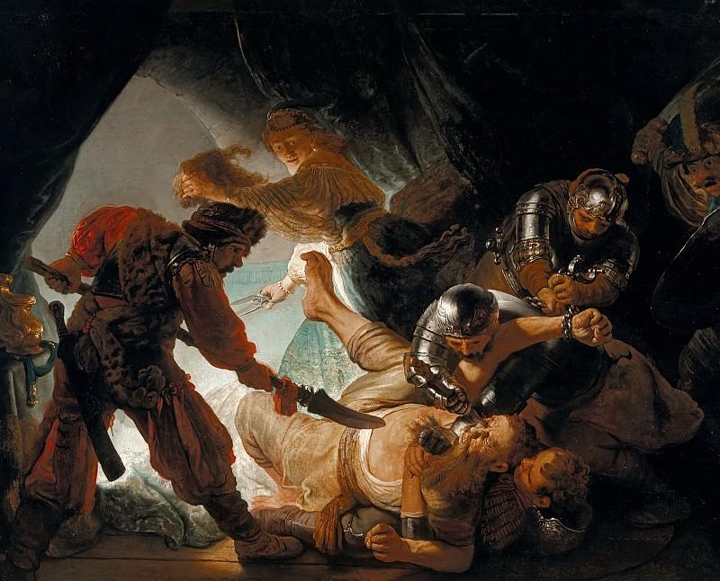 The Blinding of Samson. Rembrandt Harmenszoon Van Rijn