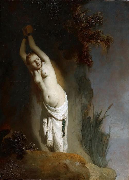 Andromeda. Rembrandt Harmenszoon Van Rijn