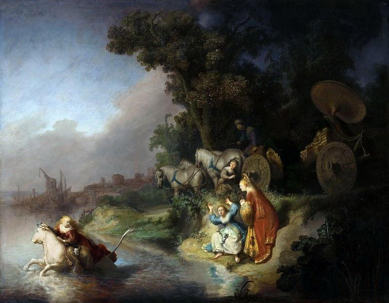 The Abduction of Europa. Rembrandt Harmenszoon Van Rijn