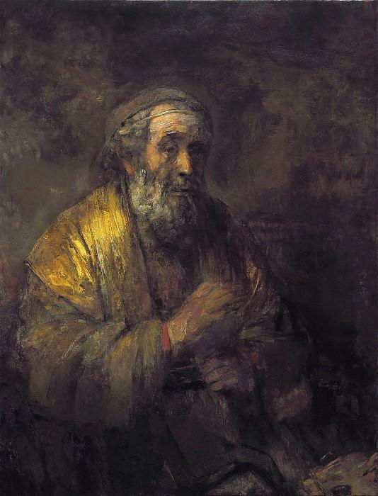 Homer. Rembrandt Harmenszoon Van Rijn
