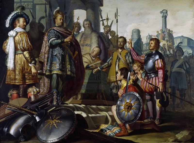 Historical Scene. Rembrandt Harmenszoon Van Rijn