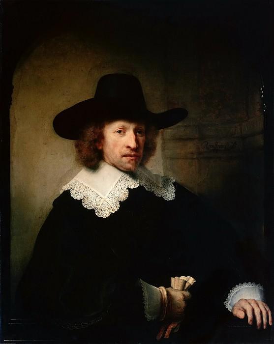 Portrait of Nicolaas van Bambeeck. Rembrandt Harmenszoon Van Rijn