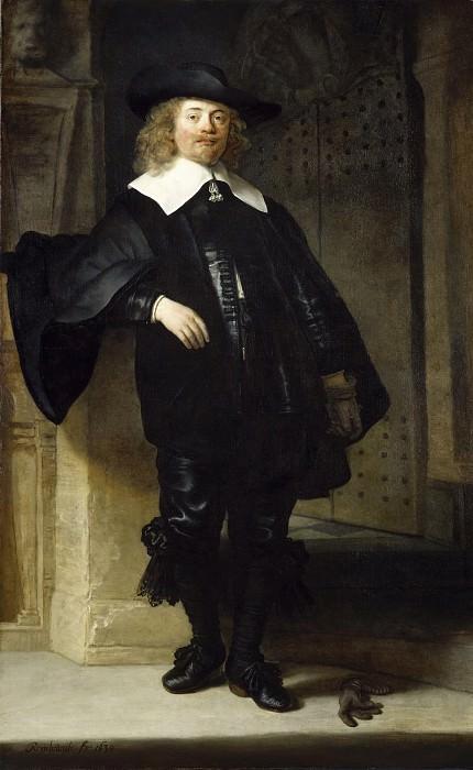 Портрет Андриеса де Граффа. Рембрандт Харменс ван Рейн
