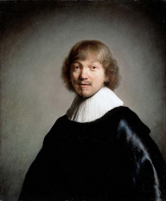 Portrait of Jacques de Gheyn III. Rembrandt Harmenszoon Van Rijn