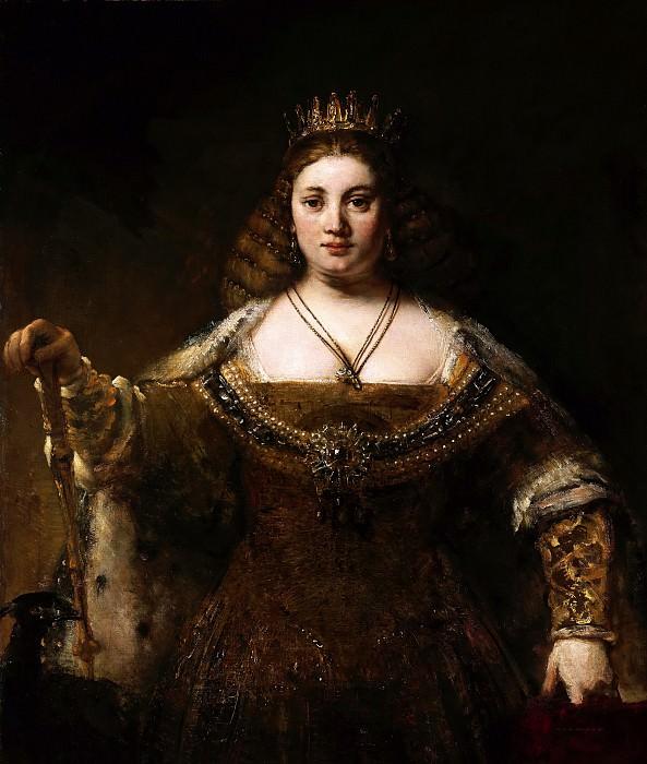 Juno. Rembrandt Harmenszoon Van Rijn
