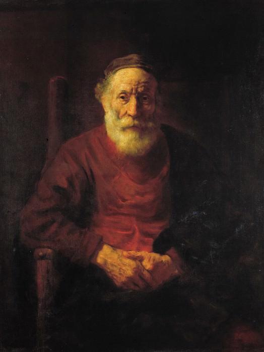 Portrait of an Old Man in Red. Rembrandt Harmenszoon Van Rijn