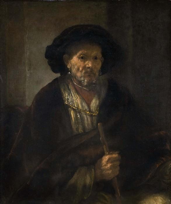 Портрет старого мужчины. Рембрандт Харменс ван Рейн