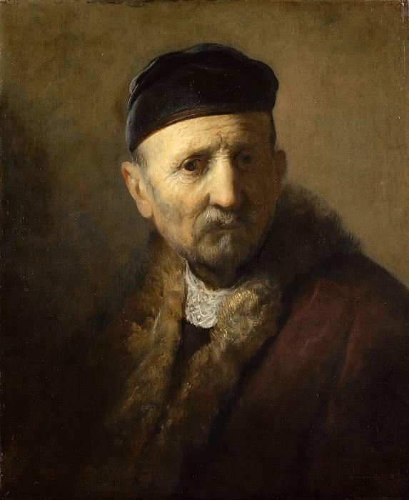 old man in a cap. Rembrandt Harmenszoon Van Rijn