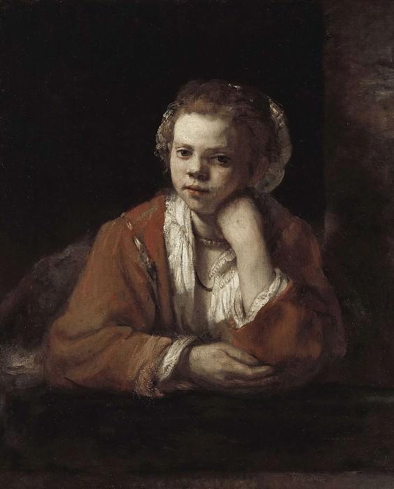 The Kitchen Maid. Rembrandt Harmenszoon Van Rijn