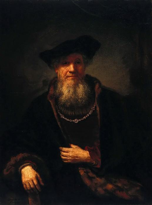 Portrait of a man (attr.). Rembrandt Harmenszoon Van Rijn
