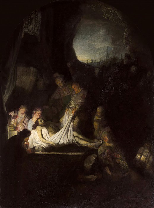 The Entombment. Rembrandt Harmenszoon Van Rijn