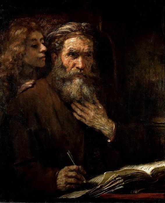 Evangelist Matthew. Rembrandt Harmenszoon Van Rijn