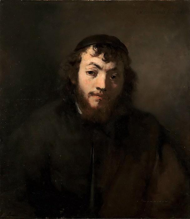 Портрет молодого еврея (приписывается). Рембрандт Харменс ван Рейн
